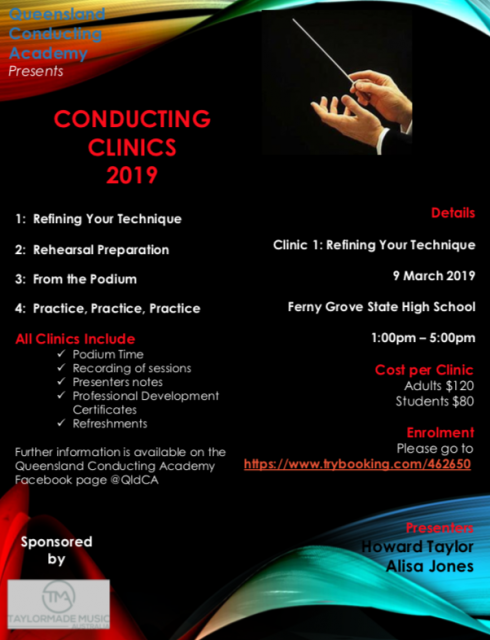 Conducting Clinics 2019